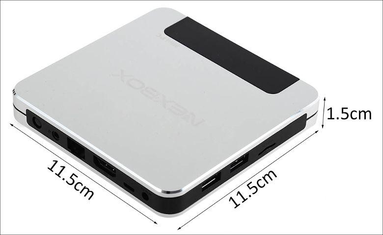 NEXBOX T9 サイズ