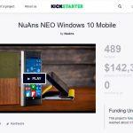 NuAns NEO、KickStarter(クラウドファンディング)での資金調達が不調に終わる - 海外ニュースから