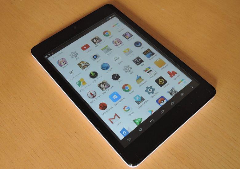 Teclast X89 Kindow 継続レビュー Android