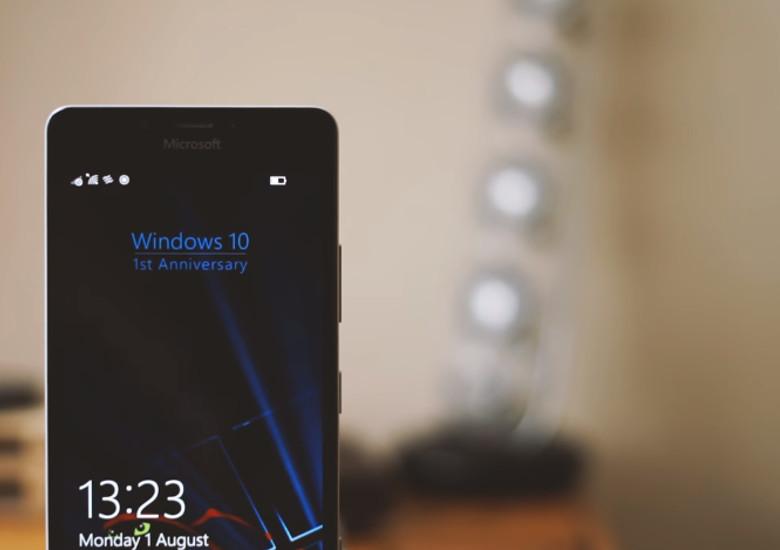 Windows 10 Mobile Anniversary Update