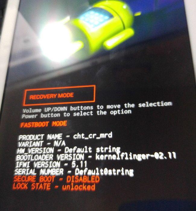 Cyanogenmod 1リカバリーモード