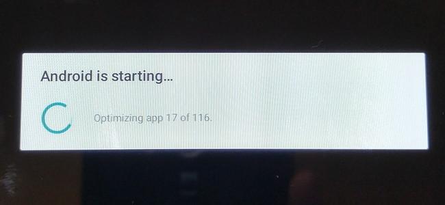 Cyanogenmod 5 インストール中