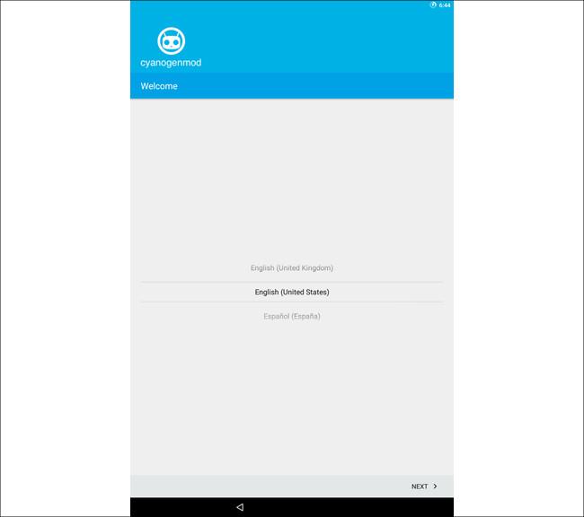Cyanogenmod 7 初期挙動