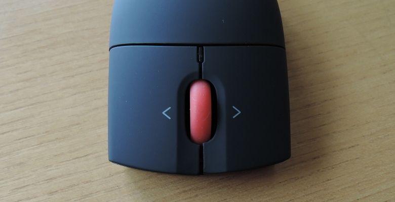 Lenovo ワイヤレスレーザーマウス ボタン