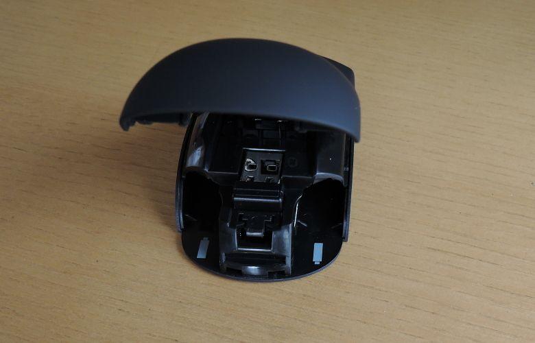 Lenovo ワイヤレスレーザーマウス カバーの開閉