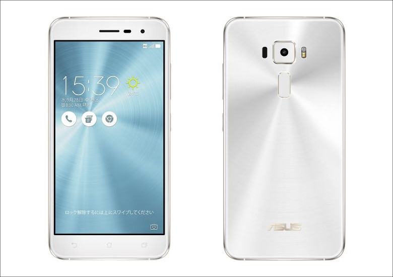 ASUS ZenFone 3 パールホワイト
