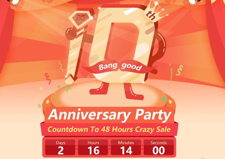 Banggood 10周年記念セール