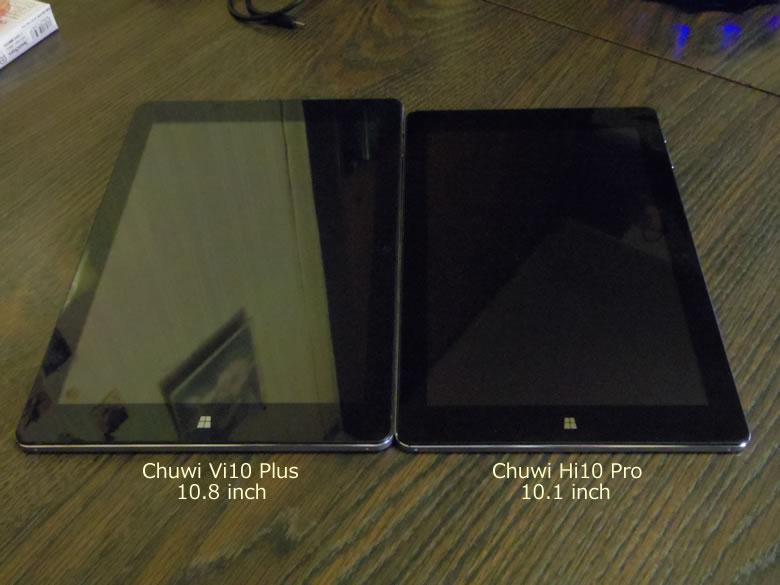 Chuwi Hi 10 Pro サイズ感