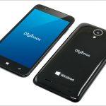 ドスパラ Diginnos Mobile DG-W10M - 5インチのWindows 10 スマホ、ついに税込み7,820円!