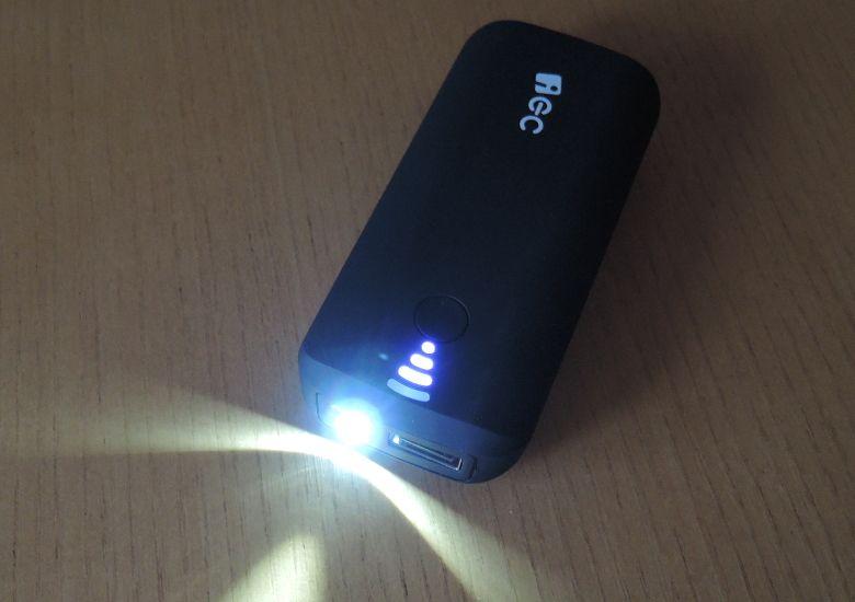 EC Technology 5200mAh モバイルバッテリー