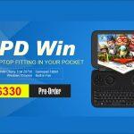 GPD WIN - プレオーダー開始!購入希望者がたくさんいるはずの5.5インチ フルWindows搭載ゲームパッド