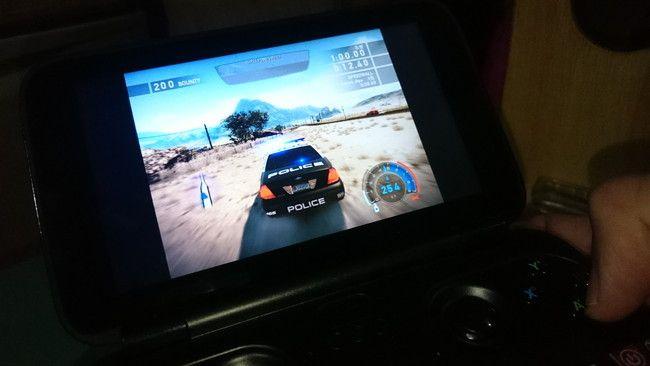 GPD Win(かのあゆレビュー)ゲーム風景