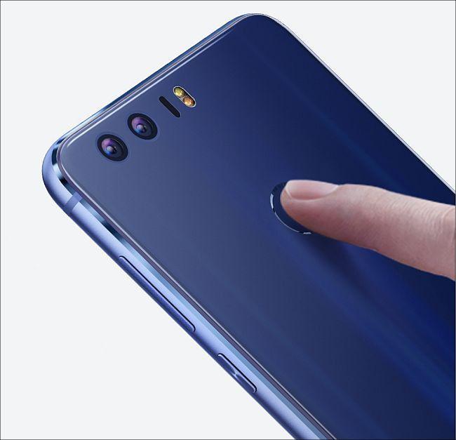 Huawei honor 8 指紋認証