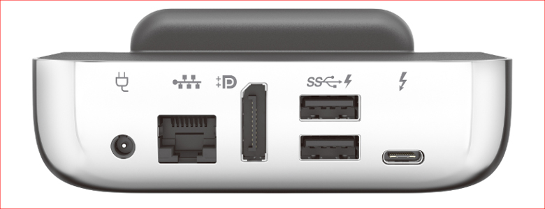 HP Elite x3 デスクドック背面