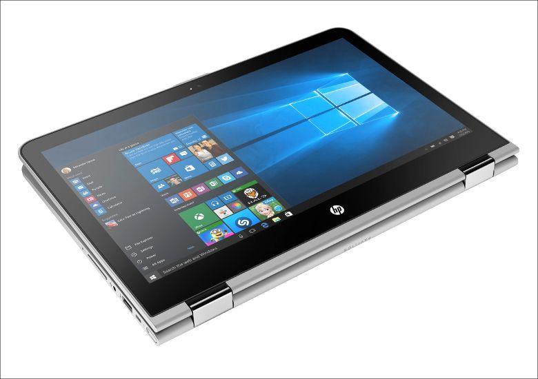 HP Pavilion 13 x360 タブレットモード