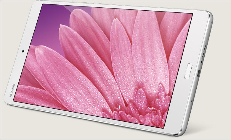 Huawei MadiaPad M3 2Kディスプレイ