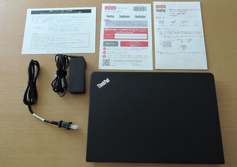 Lenovo ThinkPad 13 同梱物
