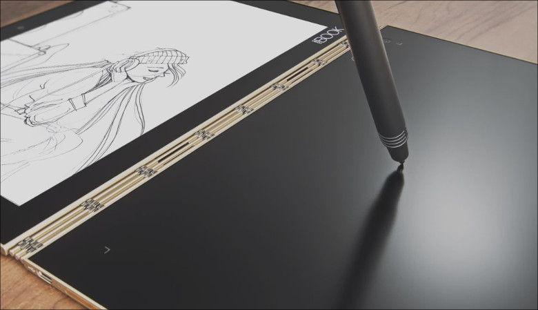 Lenovo Yoga Book キーボード面