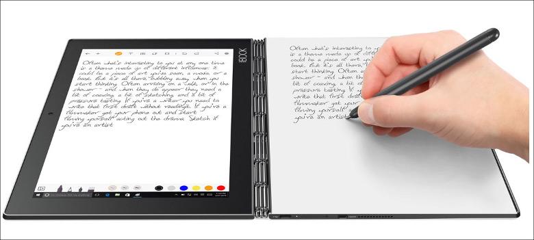 Lenovo YOGA BOOK 手書き入力