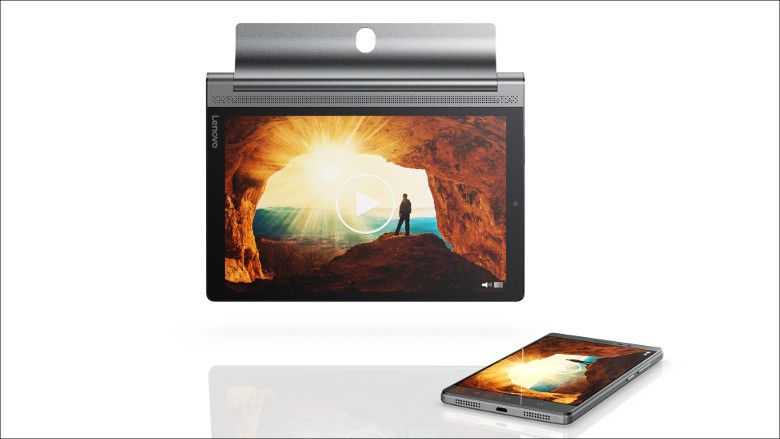 Lenovo Yoga Tab 3 Plus Media Cast