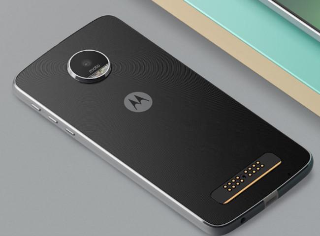 Motorola Moto Z Play 背面