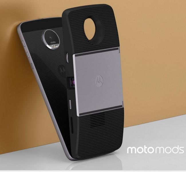 Motorola Moto Z  プロジェクターモジュール