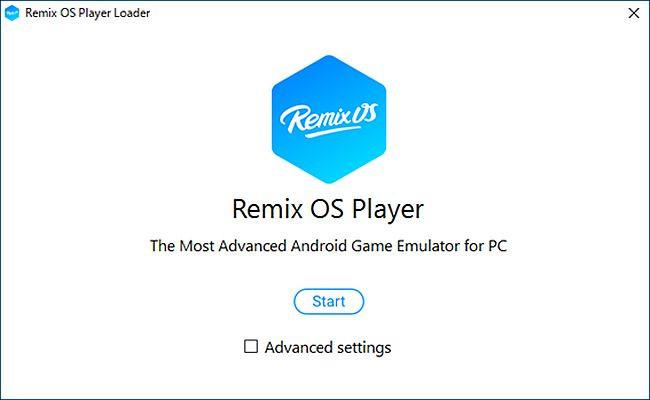 Remix OS Player 起動