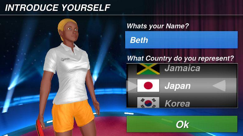 Table Tennis Champion 名前と国