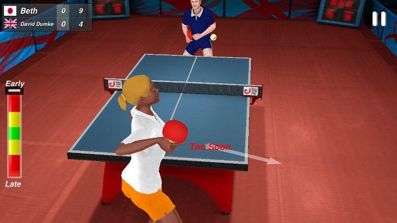 Table Tennis Champion サービス