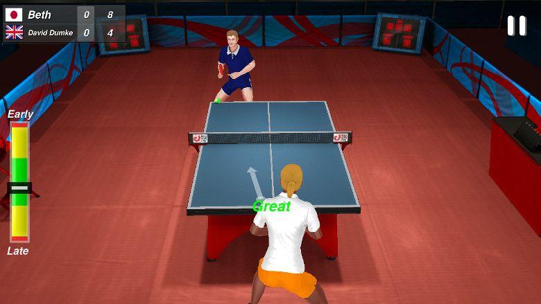 Table Tennis Champion ラリー
