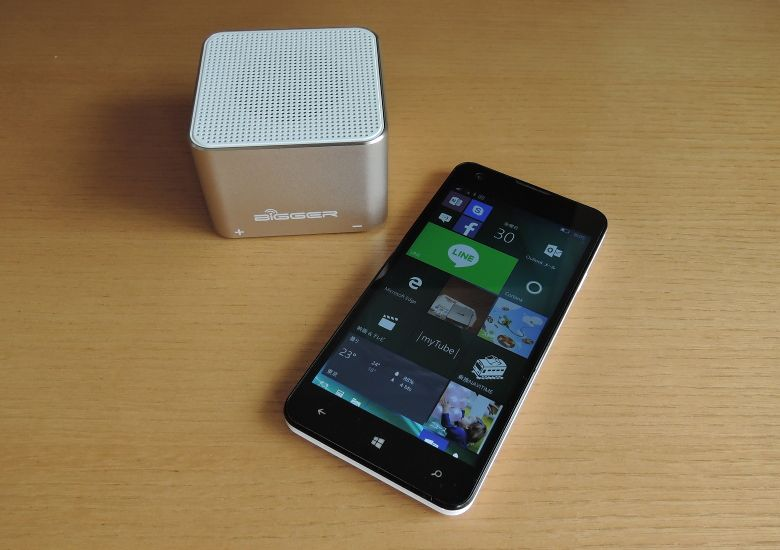 TJC Golden-Cube Bluetoothスピーカー