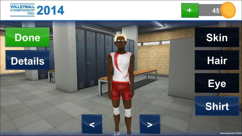 Volleyball Champion 2014 キャラデザイン