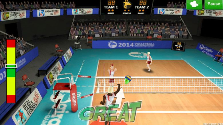 Volleyball Champion 2014 アタック