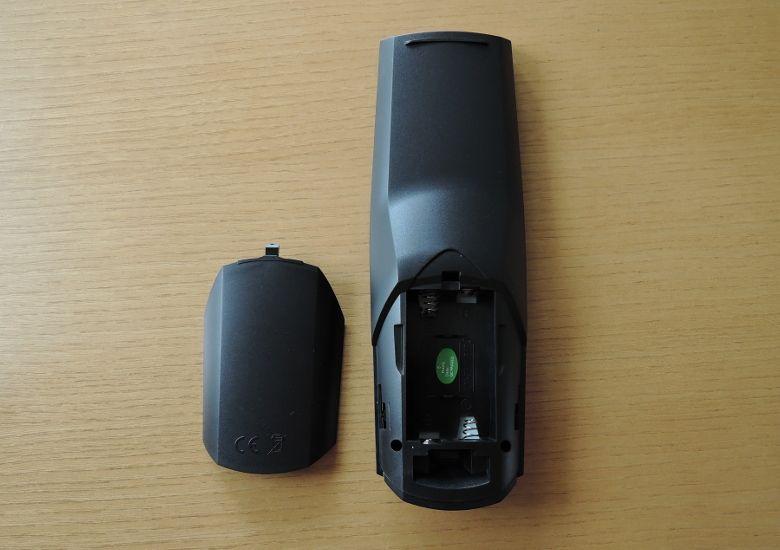 YOKA KB2 リモコン背面