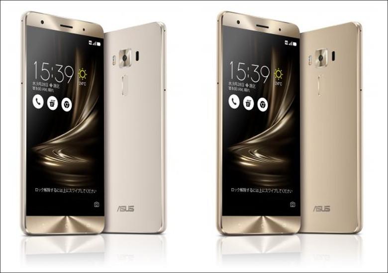ASUS ZenFone 3 Deluxe 5.7インチ