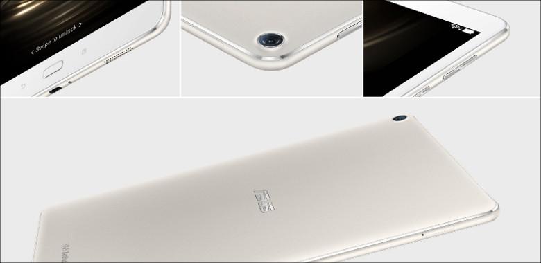 ASUS ZenPad 3S 10 筺体ディテール