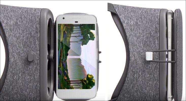 Google Daydream View 筺体内側