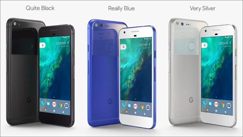 Google Pixel, Pixel XL カラー