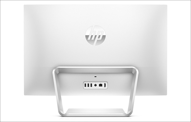 HP Pavilion 24 背面