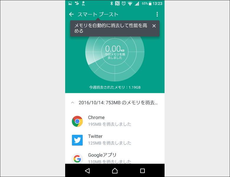 HTC Boost+ スマートブースト