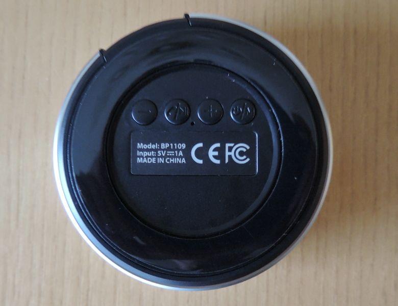 inateck BluetoothスピーカーBP1109 底面