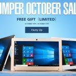 セール情報 - Jumperに強いgeekbuyingが「Jumper October Sale」!フリーギフトもあり!