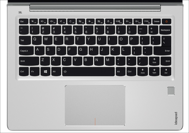 Lenovo ideapad 710S Plus キーボード