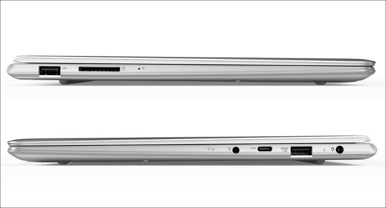 Lenovo ideapad 710S Plus 両側面