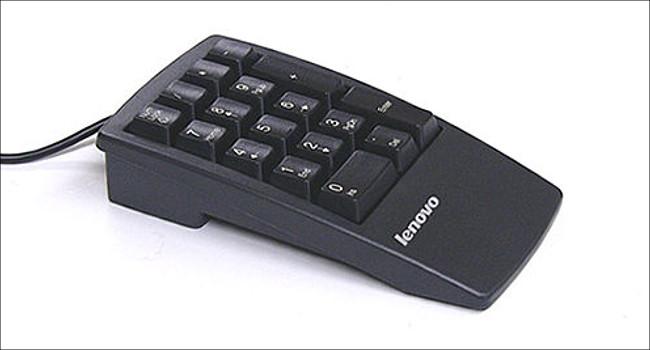 ThinkPad USB数値キーパッド