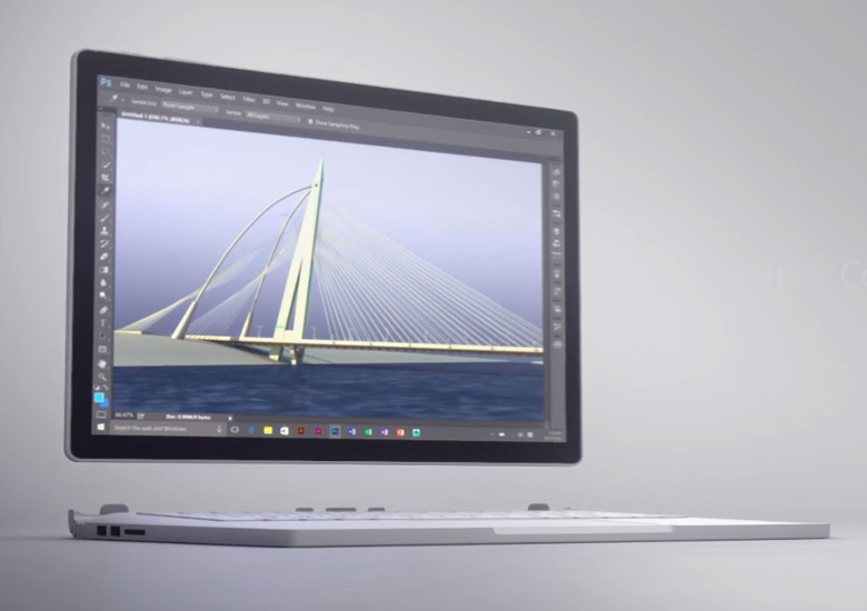 Microsoft Surface Book 筺体