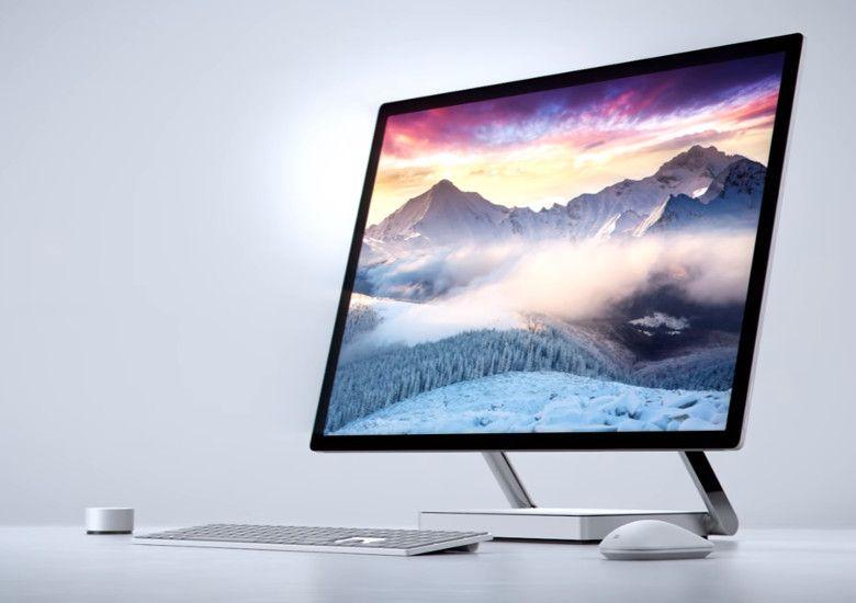 Microsoft Surface Studio デザイン