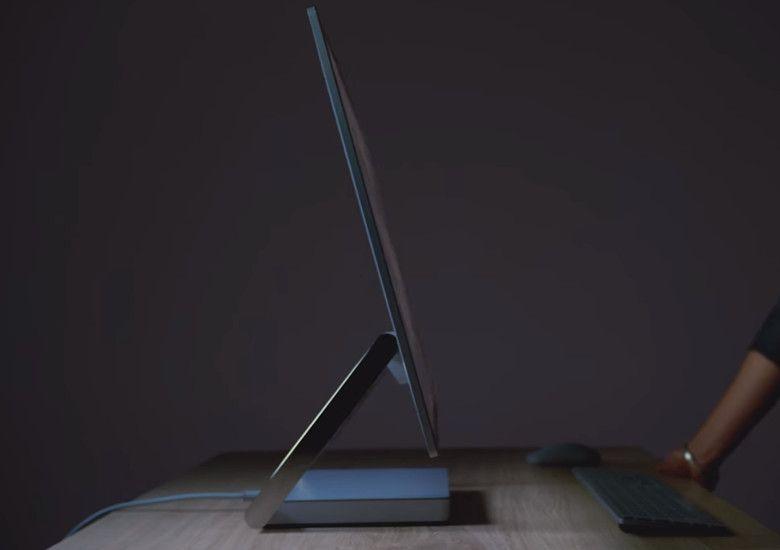 Microsoft Surface Studio サイドビュー