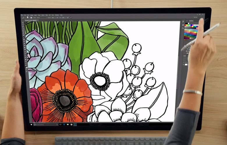 Microsoft Surface Studio 手書き入力