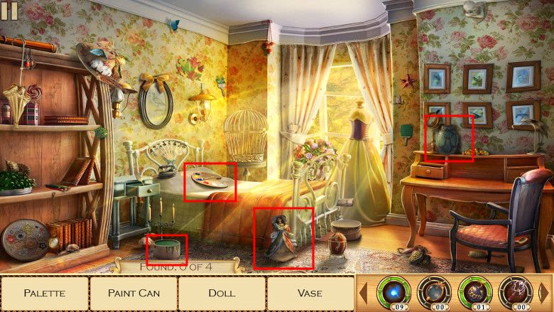 Mirrors of Albion ゲーム画面